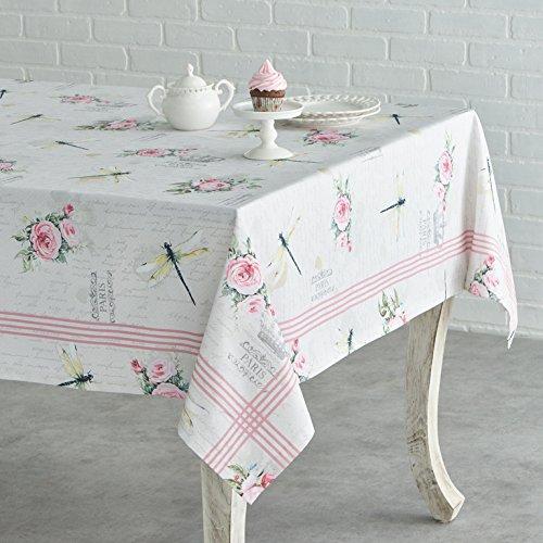 Maison d' Hermine Champ de Mars 100% Cotton Tablecloth 54 Inch by 54 Inch