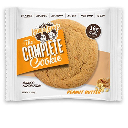 Lenny & Larry's The Complete Cookie, Peanut Butter, 4-Ounce Cookies Pack of 12