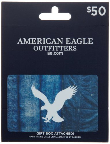American Eagle Outfitters Gift Card $50