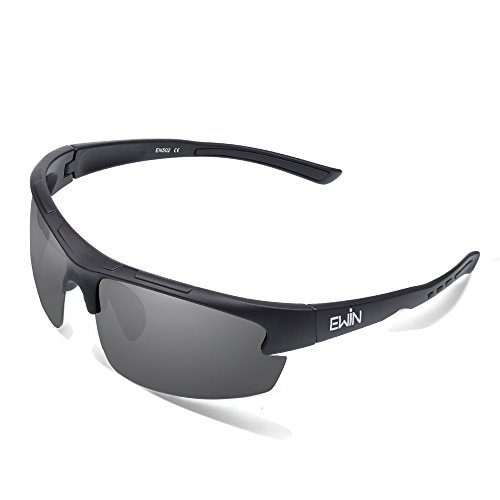 Ewin E52 Polarized Glasses Sports Sunglasses for Men Women Baseball Golf Driving Fishing Cycling Running