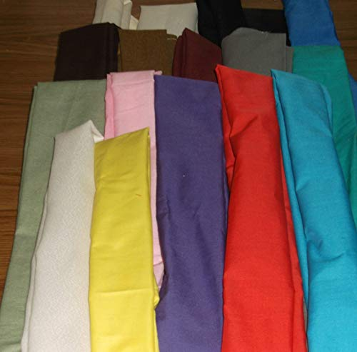 Cord Cover Cotton Fabric Handmade Variety of Colors and Sizes Up to 14 Feet