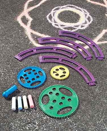 Sidewalk Chalk Design Kit