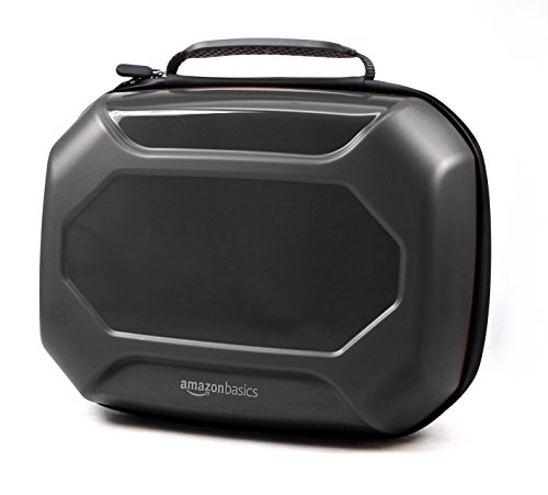 AmazonBasics Ultimate Storage Case for Nintendo Switch - Black