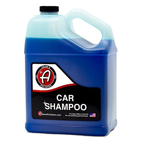 Thick, Luxurious Suds That Always Rinses Clean - Adam's Car Wash Shampoo -pH Neutral Soap Formula for Safe, Spot Free Cleaning - Ultra Slick Formula That Wont Scratch or Leave Water Spots 1 Gallon