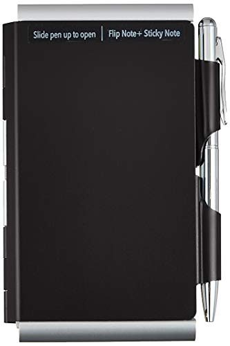 Wellspring Double Sided Flip Note, Black 2354