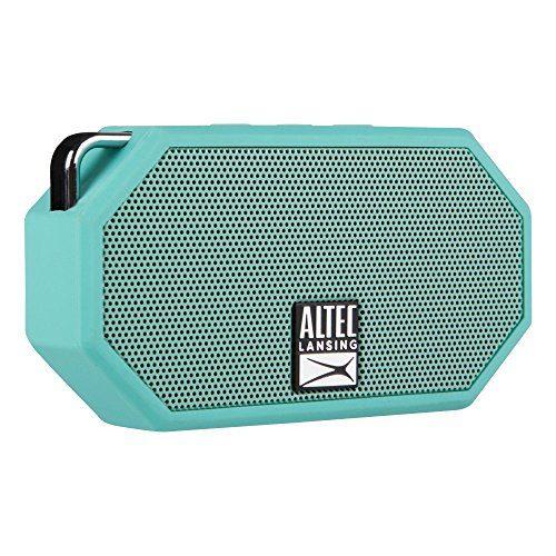 Altec Lansing IMW257 Mini H2O Wireless Bluetooth Waterproof Speaker Mint