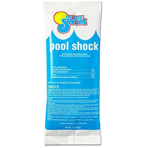 6 X 1 lb. bags - In The Swim Chlorine Pool Shock