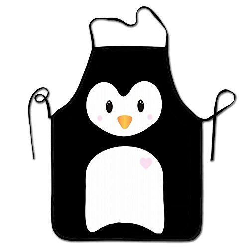 RESULT LOVE Penguin Body Women's Men's Great Gift for Wife Ladies Men Boyfriend Adjustable Apron for Kitchen