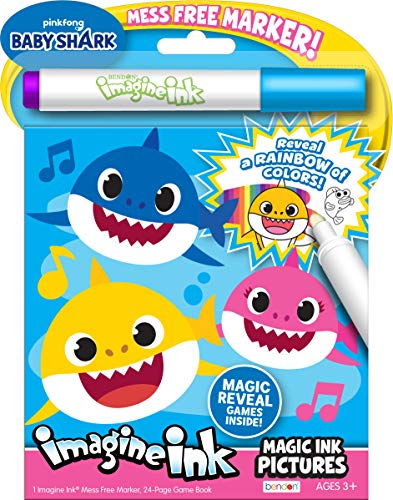 Top 9 Imagine Ink Baby Shark - Kids' Drawing & Painting Supplies