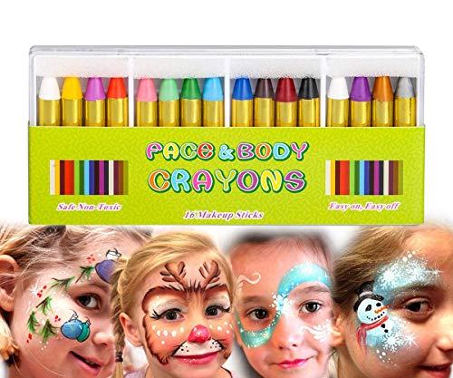 Top 10 Body Paint Kit - Kids' Crayons