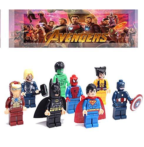 Top 8 Superhero Lego Figures - Action & Toy Figure Playsets