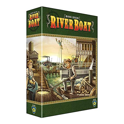 Top 10 Riverboat Board Game - Board Games