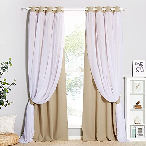 Top 10 Sheer Curtains for String Lights - Kids' Curtain Panels