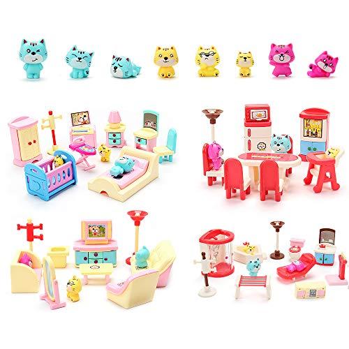 Top 10 Plastic Dollhouse Furniture - Dollhouse Furniture