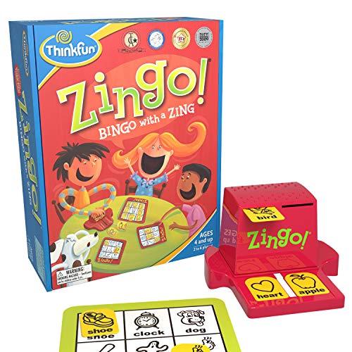 Top 9 Zingo Bingo with a Zing - Board Games
