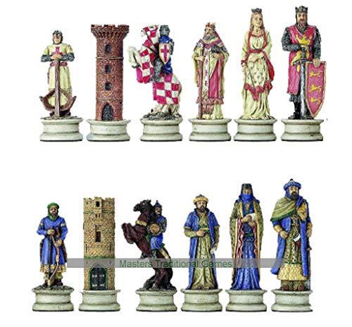 Top 10 Crusader Chess Set - Board Games