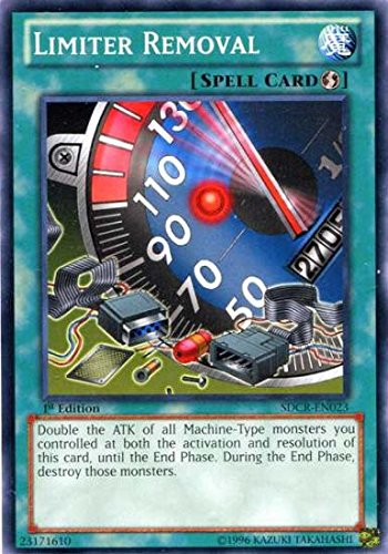 Top 9 Limiter Removal Yugioh - Games & Accessories