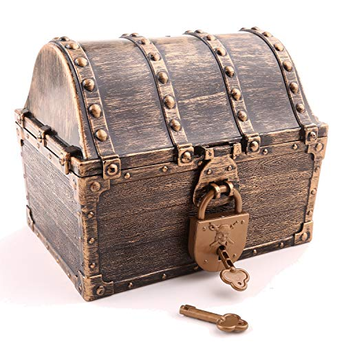 Top 10 Treasure Chest with Lock and Key - Toys & Games