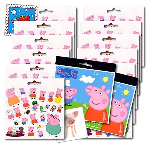 Top 8 Peppa Pig Stickers - Kids' Stickers