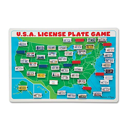 Top 7 Licence Plate Game - Classic Games