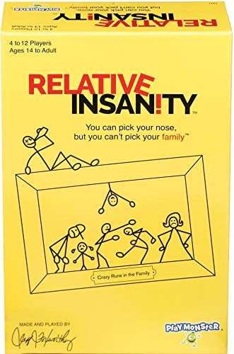 Top 10 Relative Insanity Game by Jeff Foxworthy - Dedicated Deck Card Games