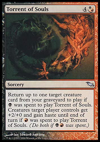 Top 7 Torrent of Souls - Collectible Card Game Singles