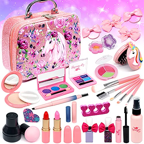 Top 10 Kids Makeup Kit for Girl 10 Years Old - Dress-Up Toy Makeup