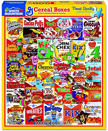 Top 10 Cereal Jigsaw Puzzle - Jigsaw Puzzles