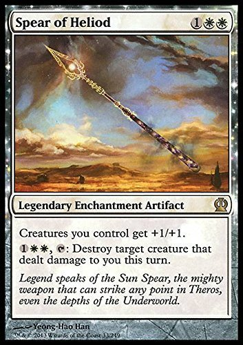 Top 8 Spear of Heliod - Collectible Card Game Singles