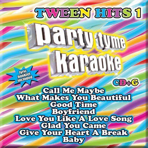Tween Hits 1 8+8-song CD+G - Party Tyme Karaoke