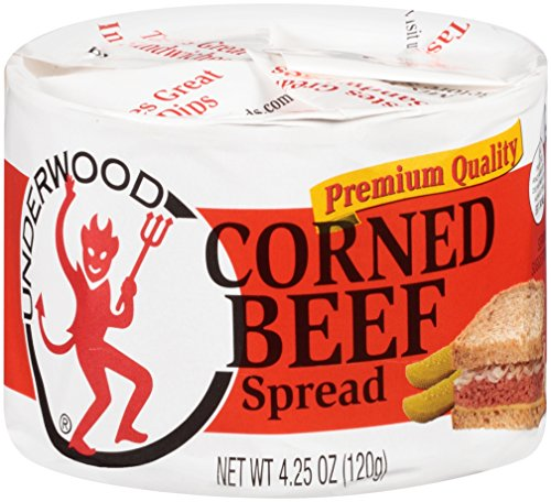 Underwood Corned Beef Spread, 4.25 Ounce Pack of 12