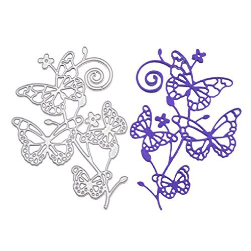 Christmas Metal Cutting Dies Stencils for DIY Scrapbooking Decorative Crafts Embossing Paper Cards Making Box Decor Butterfly