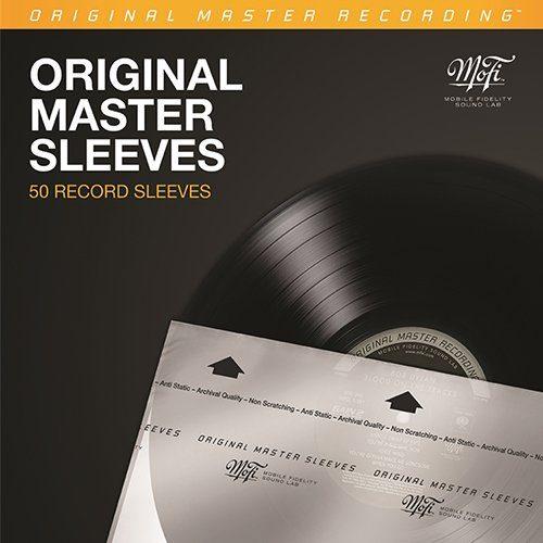 MOBILE FIDELITY SOUND LAB INNER SLEEVES - MOFI MFSL 50 RECORD SLEEVES