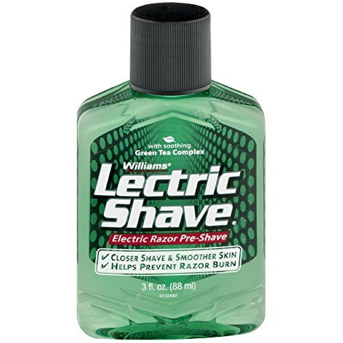 Lectric Shave Pre-Shave Original 3 oz Pack of 3