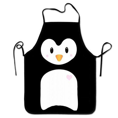 RESULT LOVE Penguin Body Women's Men's Great Gift for Wife Ladies Men Boyfriend Adjustable Apron for Kitchen
