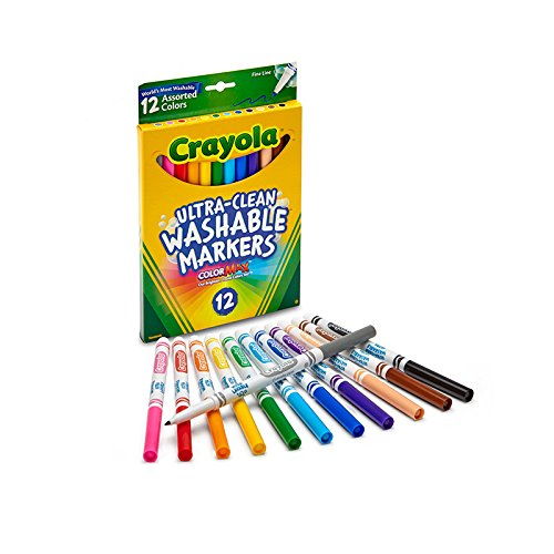 Top 8 Skinny Crayola Markers - Kids' Coloring Pens & Markers